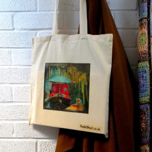 canvas bag original art