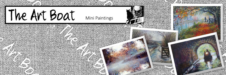 art boat banner mini