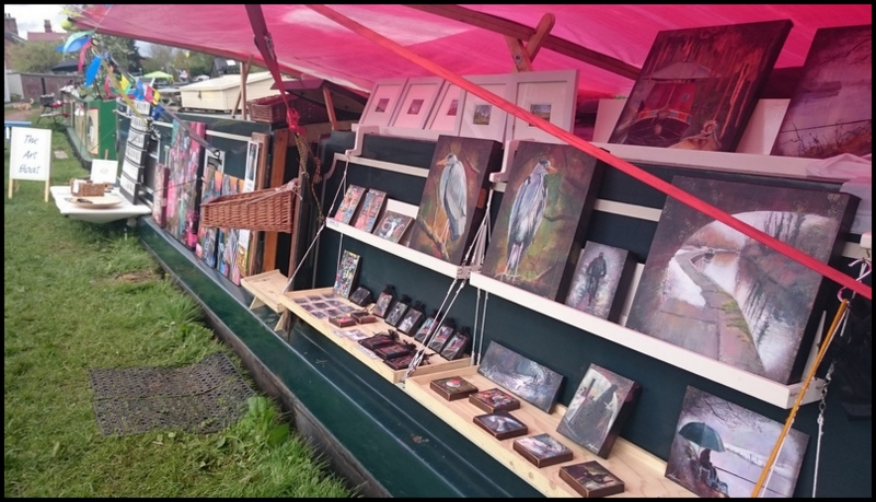 Display, The Art Boat