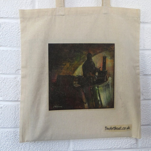 Coalboat canvas bag