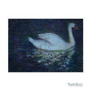 Mini Monday 7 swan