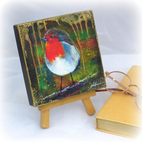 Christmas robin redbreast