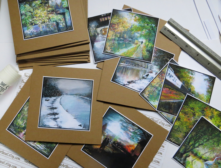 10 fine art greeting cards