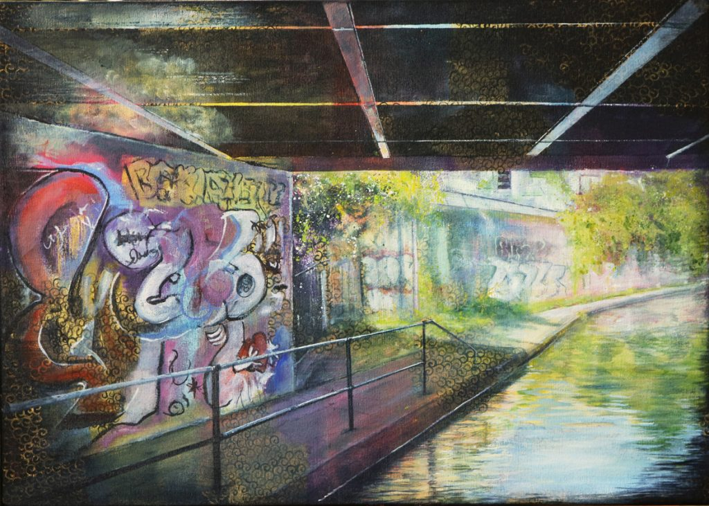 Graffitti, London near Camden Town