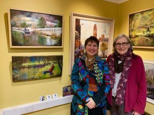 "Jan Vallance ""Winter"" at Interwoven exhibition"